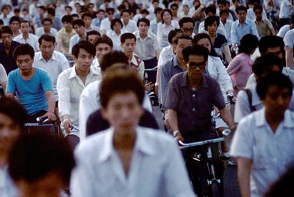 толпа в Китае