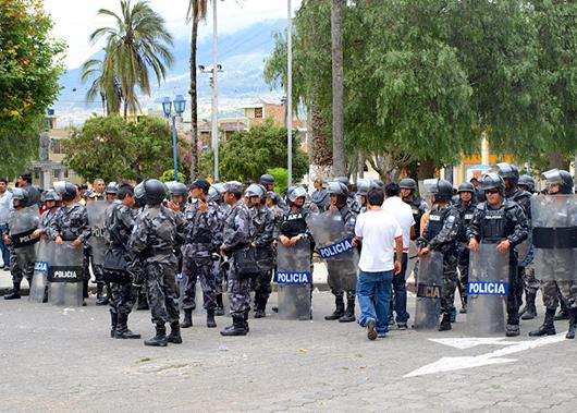 эквадор фото полиция