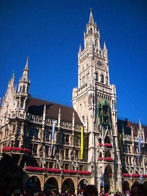 мюнхен ратуша фото