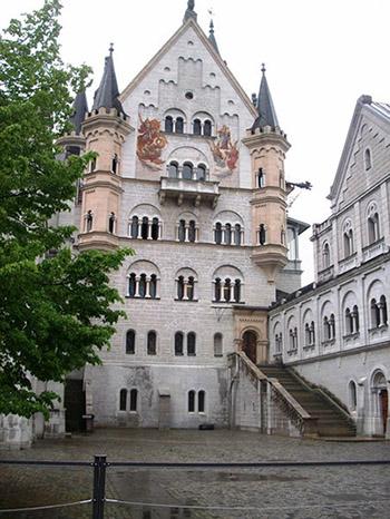 замок нойшванштайн фото