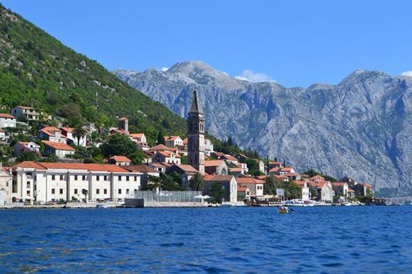 Пераст– маленький город в Черногории с богатым прошлым