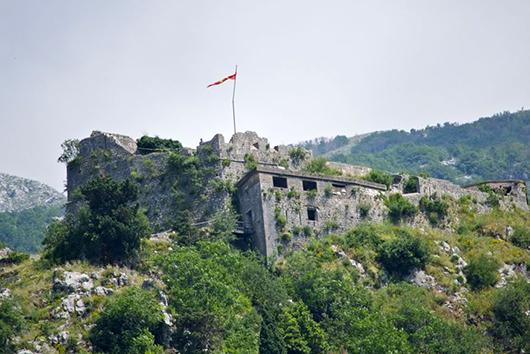 котор черногория крепость
