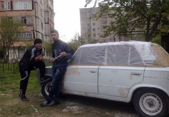 абхазы у авто фото