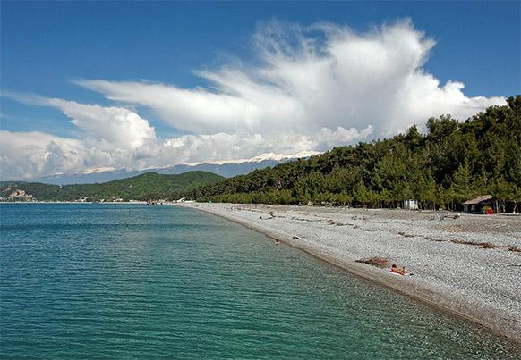 Абхазия фото моря