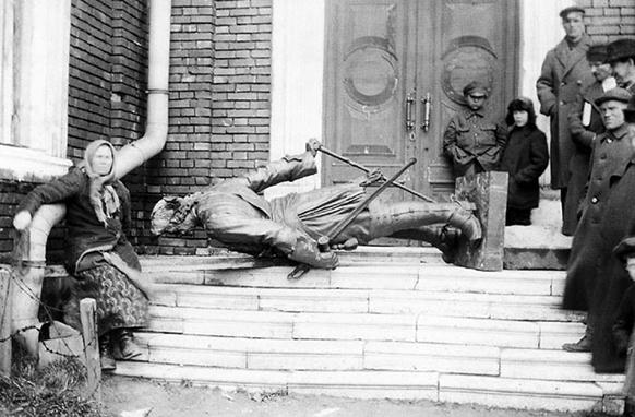Памятник Петру, фото, архангельск