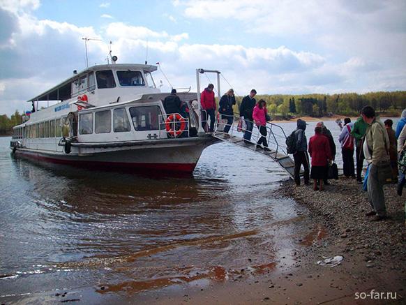 Волга, теплоход, фото