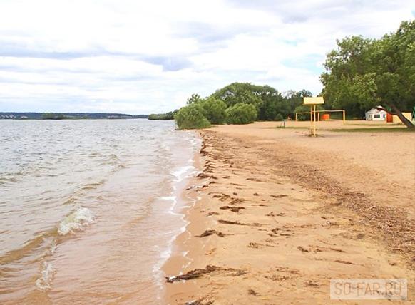 Минское море, пляж