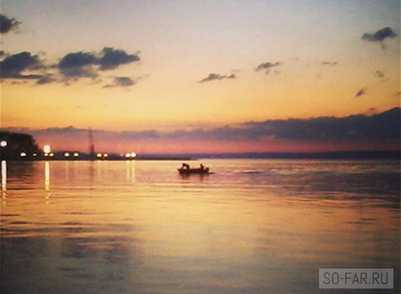 Минское море, рыбалка