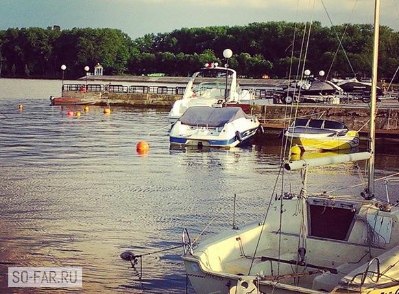 Минское море, яхты