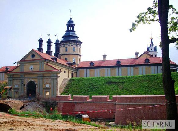 Несвижский замок, фотография
