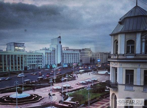 Площадь Независимости в Минске, фото