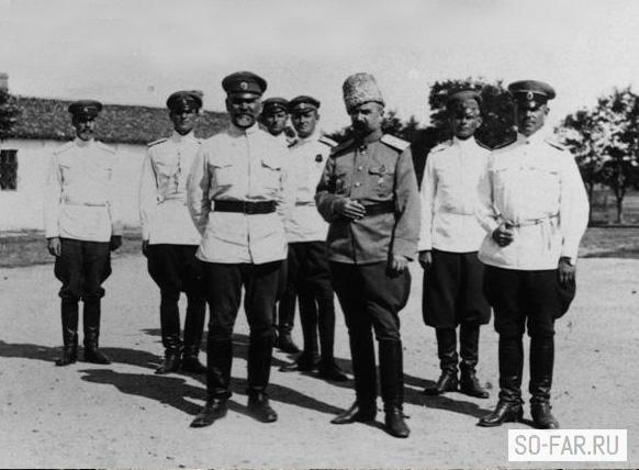 русские белые генералы