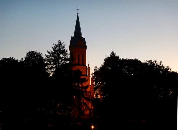 Церковь в Бирштонас, фото