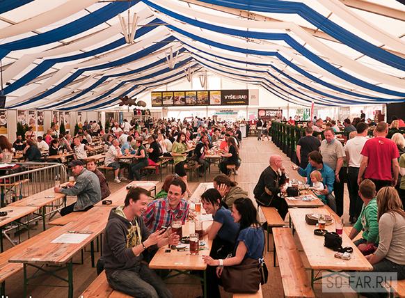Фестиваль пива в Чехии