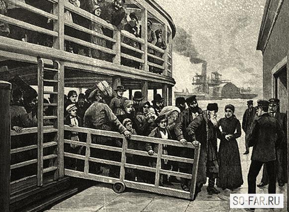 русские эмигранты, фото