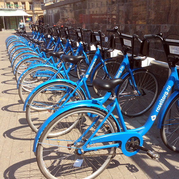прокат велосипедов в спб