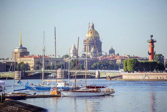 В Петербурге на выходных пройдет морской фестиваль