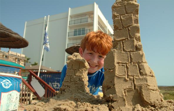 В Германии введен запрет на замки из песка на пляжах