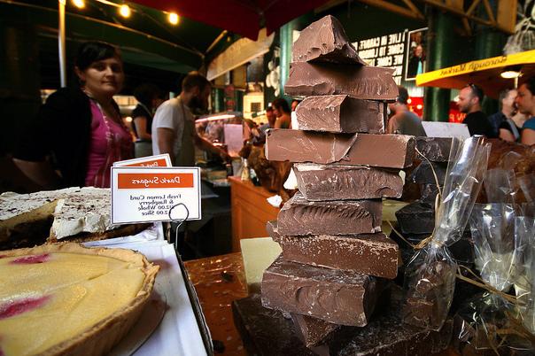На октябрь в Лондоне запланирован традиционный праздник шоколада
