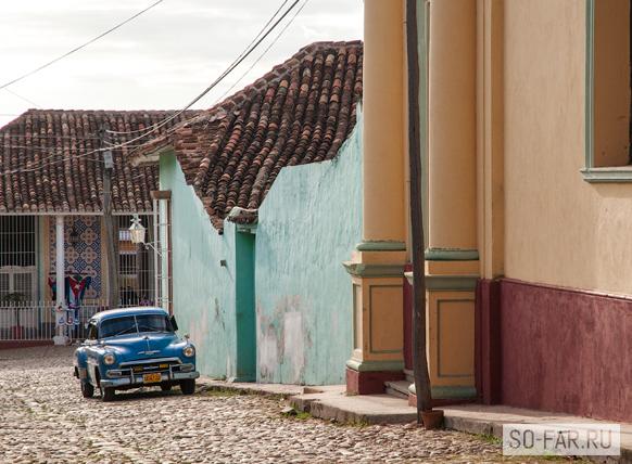старая машина, Куба фото
