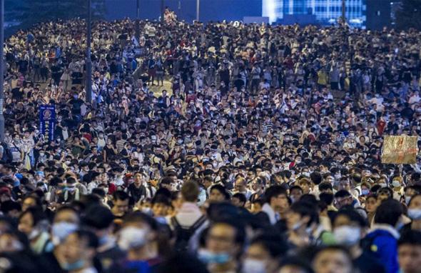 Ростуризм рекомендует не посещать Гонконг