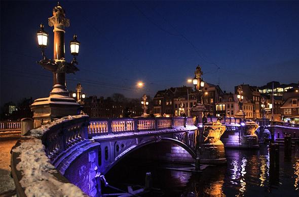 Амстердам в третий раз приглашает на Фестиваль света