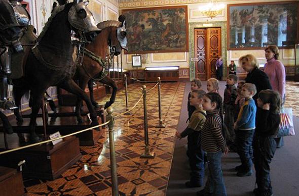 Экскурсия в Эрмитаж для детей