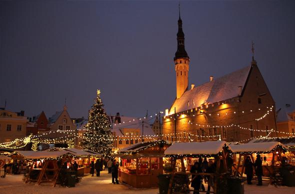 На Новый год в Эстонию петербуржцам лучше поехать в объезд