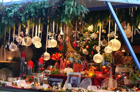 Традиционный рождественский рынок в Германии можно посетить прямо в аэропорту