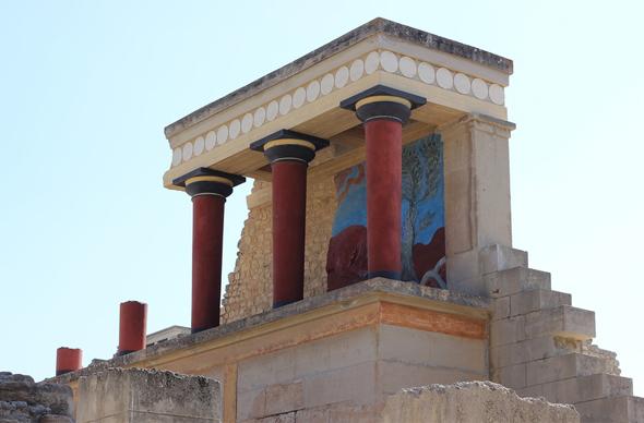 Греция: Кносский дворец