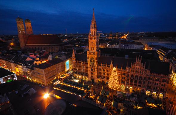 Рождество и Новый год в Мюнхене