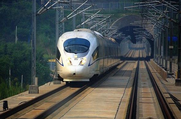 Из Шанхая до Гуанчжоу можно будет добраться на поезде всего за 7 часов