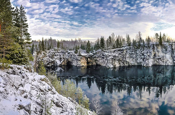 Карелия стала для россиян доступной альтернативой Финляндии на Новый год