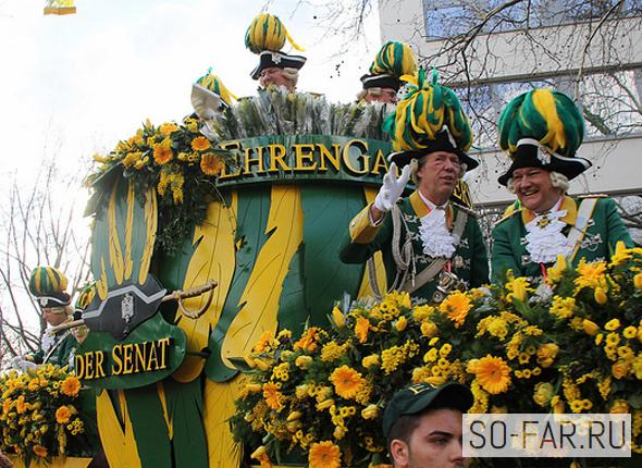 Карнавал в Кельне, фото