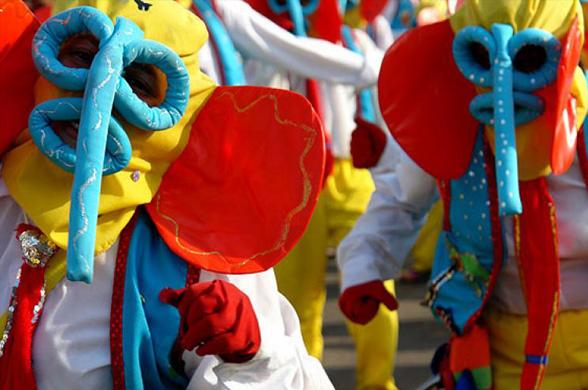 Портобело в Панаме приглашает на экзотический фестиваль