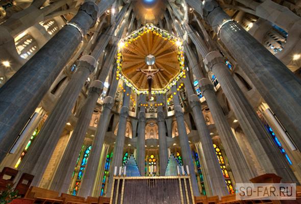 Sagrada Familia altar, foto