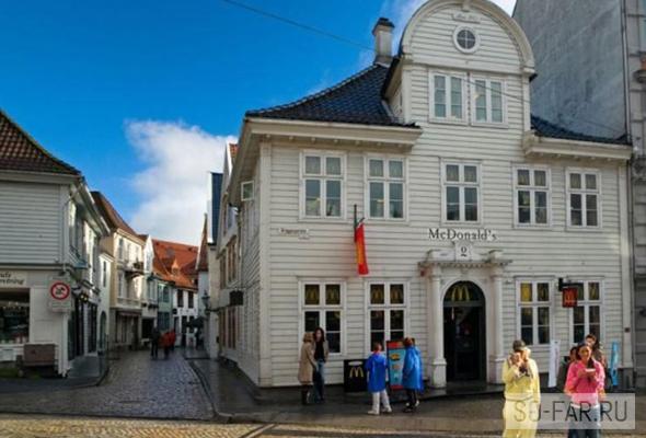 Bergen McDonalds, foto