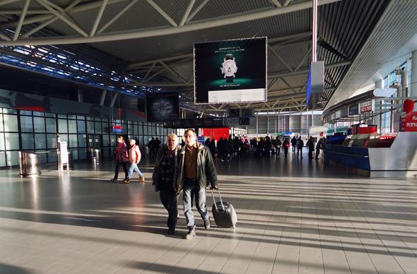 В аэропорту Софии появилось метро
