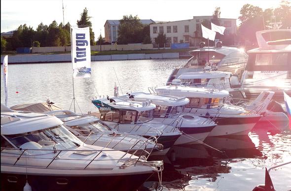 В конце мая в Санкт-Петербурге пройдет масштабное бот-шоу на воде
