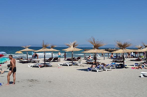 Пляжи в болгарском городе Бургас
