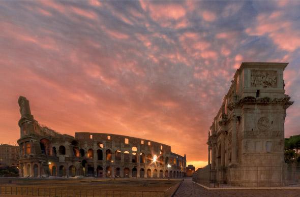 В Колизей можно будет попасть даже поздно вечером
