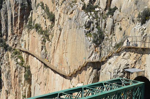 В Испании открыли экстремальный горный переход