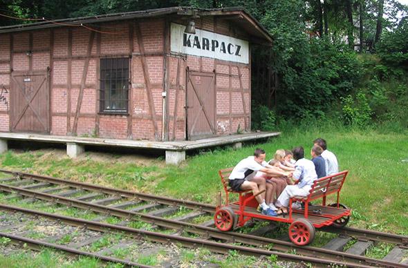 В Польше появятся туристические дрезины
