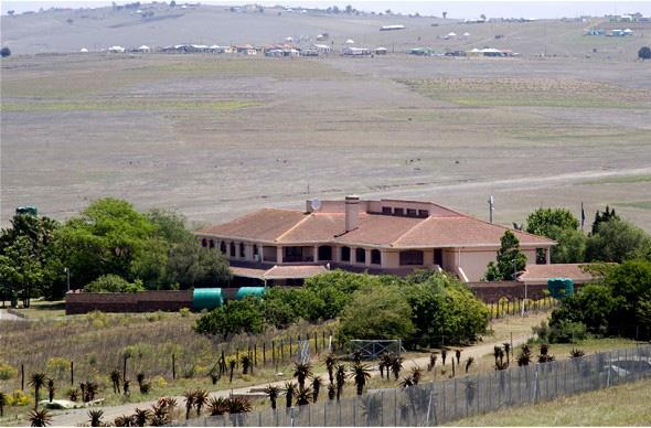 Роскошная вилла Нельсона Манделы превратилась шикарный отель