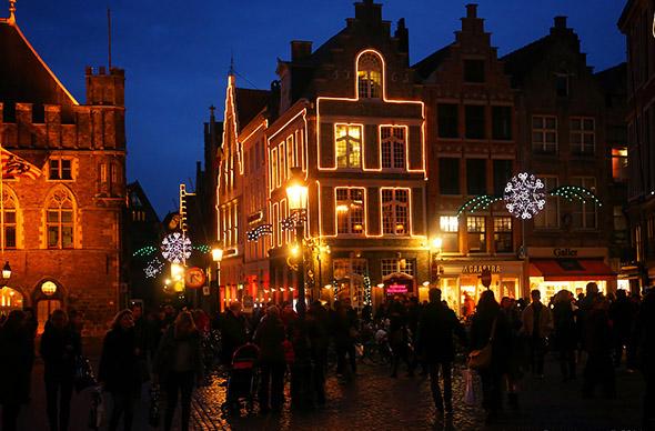 В Брюсселе появилась самая крупная пешеходная зона в Европе