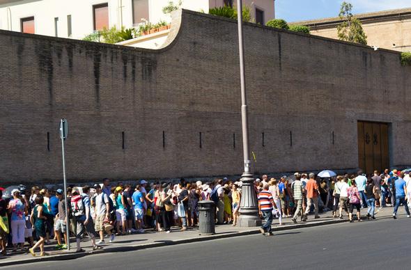 очередь в Ватикан