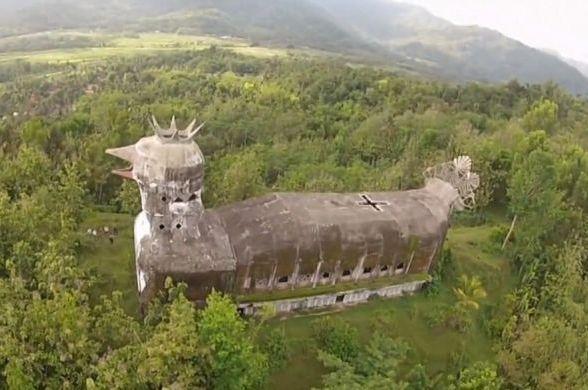 храм в виде голубки, Джакарта