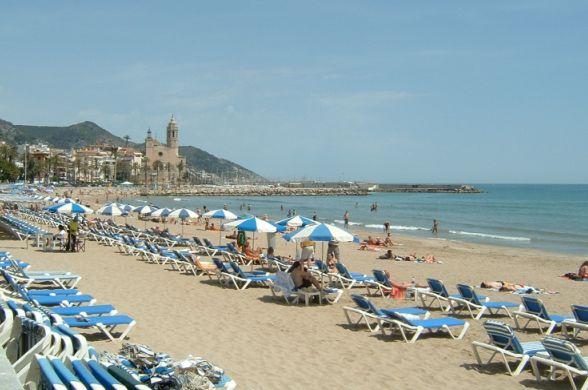 Пляж, Испания