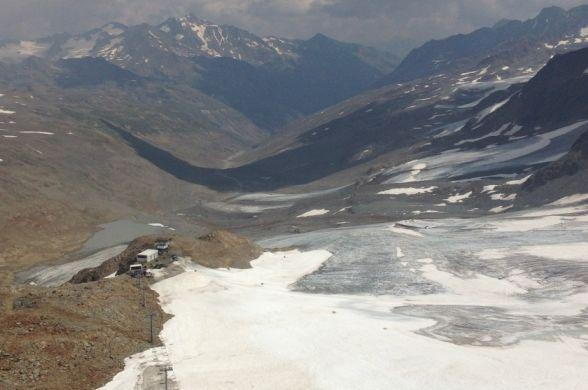 ледник  Giogo Alto