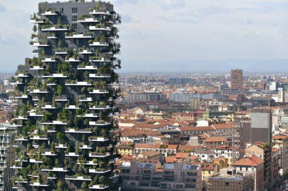 Новый комплекс высоток в Милане стал лучшим в мире